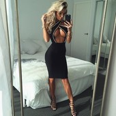 Modern fashion icons in Tight Dress 2509