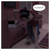 Gender bender 3d comic One Eerie Treat by Infinity Sign