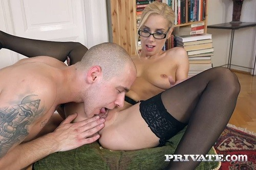 Nesty - Milf Secretary Nesty Fucks While Wearing Glasses