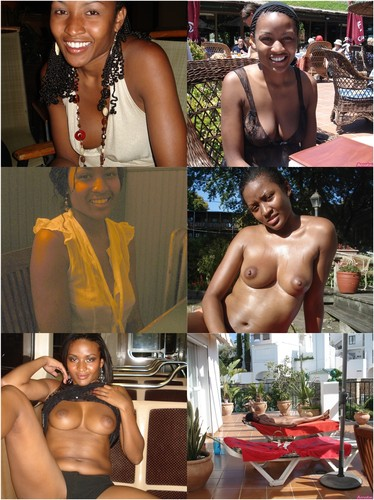 Busty Ebony Girl From Cuba Flashing