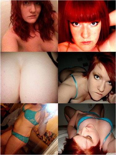 Extremely Hot Redhead Busty Girl Posing Nude