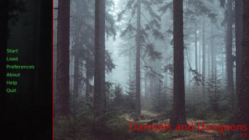 Damsels and Dragons [v0.5] [Amaraine Games]