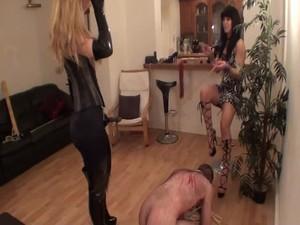 Tags: femdom, humiliate, strapon, torture, ass, latex, ballbusting