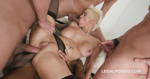 LegalPorno.com - Monsters of DAP with Mila Milan 5on1 Almost All Terrific DAP / Destroyed Gapes / 6 Swallows GIO547