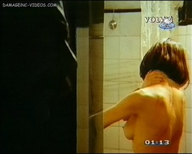 Ines Estevez nude in the shower