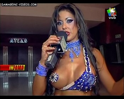 Pamela Sosa busty showgirl pasties