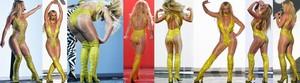 Britney Spears Minivestido Con Botas Altas, Actuación En Los MTV 2016