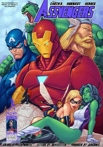 JKRcomix - Marvel Assvenger - Part 1