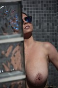 Ewa Sonnet - Nude Outdoor Shower