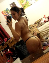 Sexy nude mexican selfie with