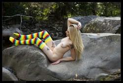 Freya - Rainbow Socks