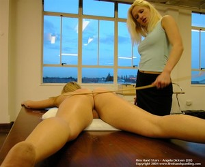 Angela dickson spank