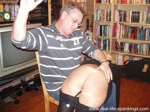 Her first spanking