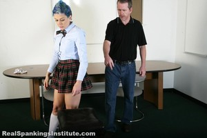 Kestrel Is Spanked By The Dean (part 2 Of 2) - image1