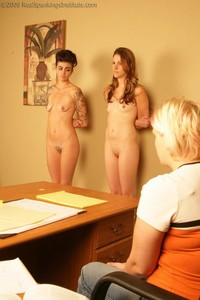 Jade And Monica Caned In Front Of A Witness - image3