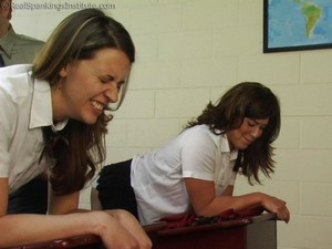 Betty And Monica's School Girl Makeout (part 2 Of 4) - image2