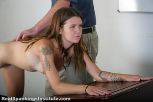 Rae And Maya Spanked By The Dean (part 4 Of 4) - image6
