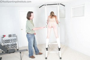 Monica's Uncomfortable Spanking (part 2 Of 2) - image1