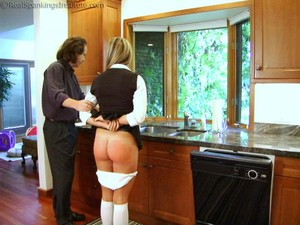 Riley Punished For Slacking On Her Chores (part 2 Of 2) - image2