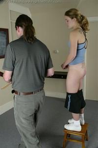Mr M. Spanks Jennifer For Too Many Infractions. - image4