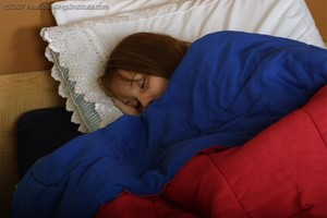 Raquel Sleeps In - image1
