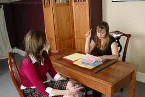 Caned In The Teacher's Office - image4