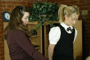 Sarah Is Strapped For Lying - image4