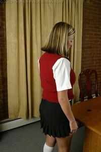 Charli's Office Spanking - image4