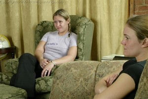 Jennifer & April: Late & Spanked - image3