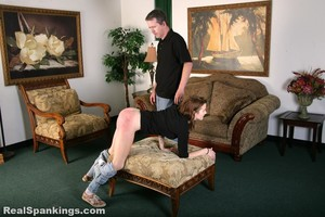 Rae Spanked By Mr. M (part 2 Of 2) - image4