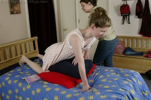 Kathy Spanked By Lady D Pt. 2 - image6