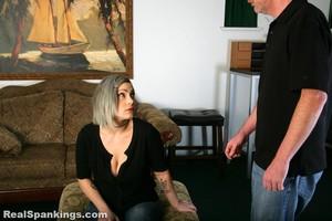 Mila: Spanked OTK, Over The Knee - image3