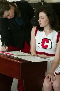 Donna's Cheerleader Punishment-paddle - image4
