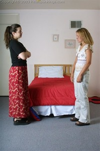 Jennifer's OTK, Over The Knee Handspanking - image1