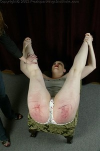 Betty's Diaper Position Punishment - image6