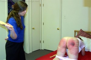 Trish's Severe Strapping - image5