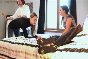 Monica Spanked In Front Of Frankie - image4