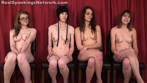 Four Naked Girls Spanked (part 4 Of 4) - image1