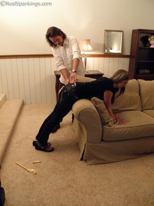 Riley Spanked For Too Many Texts - image3