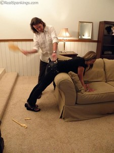 Riley Spanked For Too Many Texts - image2