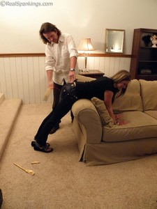 Riley Spanked For Too Many Texts - image4