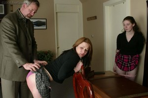 Bailey And Claire Earn A Spanking - image3