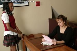 Janelle's Pink Slip Punishment - image3