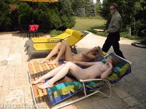 Paddled By The Pool, Fully Naked (part 1: Monica) - image4