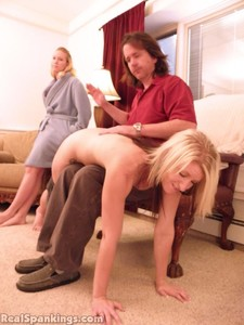 Summer And Brooke Hand Spanked For Coming Home Late (part 1 Of 2) - image6