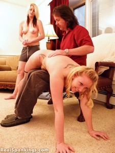 Summer And Brooke Hand Spanked For Coming Home Late (part 2 Of 2) - image3