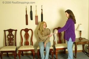 Sapa: Caroline Recieves The Strap - image3