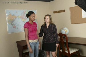Janelle's School Strapping - image1