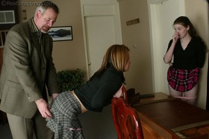 Bailey And Claire Earn A Spanking - Part 2 - image1
