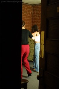 April's Voyeur Strapping - image1